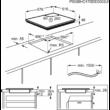 AEG IKB64301XB Indukciós Főzőlap 60cm INOX Keret