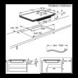 AEG IKE74451FB Indukciós Főzőlap 70cm