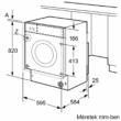Bosch WKD28541EU Serie | 6, Mosó-szárítógép