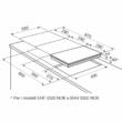 Electrolux EHF3320NOK Domino Kerámia Főzőlap 30cm