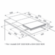 Electrolux EHH3320NVK Domino Indukciós Főzőlap 30cm