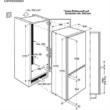 Electrolux ENN2854COW Beépíthető Kombinált Hűtőszekrény 178cm