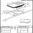 AEG IPE84531FB MaxiSense beépíthető indukciós főzőlap, 80 cm