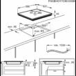 Zanussi ZIL6340CB Indukciós Főzőlap 60cm