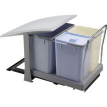 Elletipi PA700 18+8+8 literes kihúzható konyhai szemetes, automatikus fedéllel