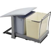 Elletipi PA702 18+18  literes kihúzható konyhai szemetes, automatikus fedéllel
