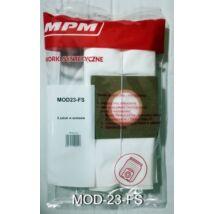 MPM MOD23-FS Mikrofilteres porzsák MOD-23-as porszívóhoz 5db/cs