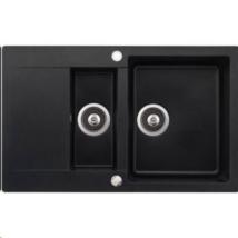 Teka Clivo 60 BTQ (metál fekete) gránit mosogatótálca