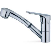 Teka MT Plus MTP 978 469780200 Egykaros álló zuhanyfejes mosogató csaptelep Króm