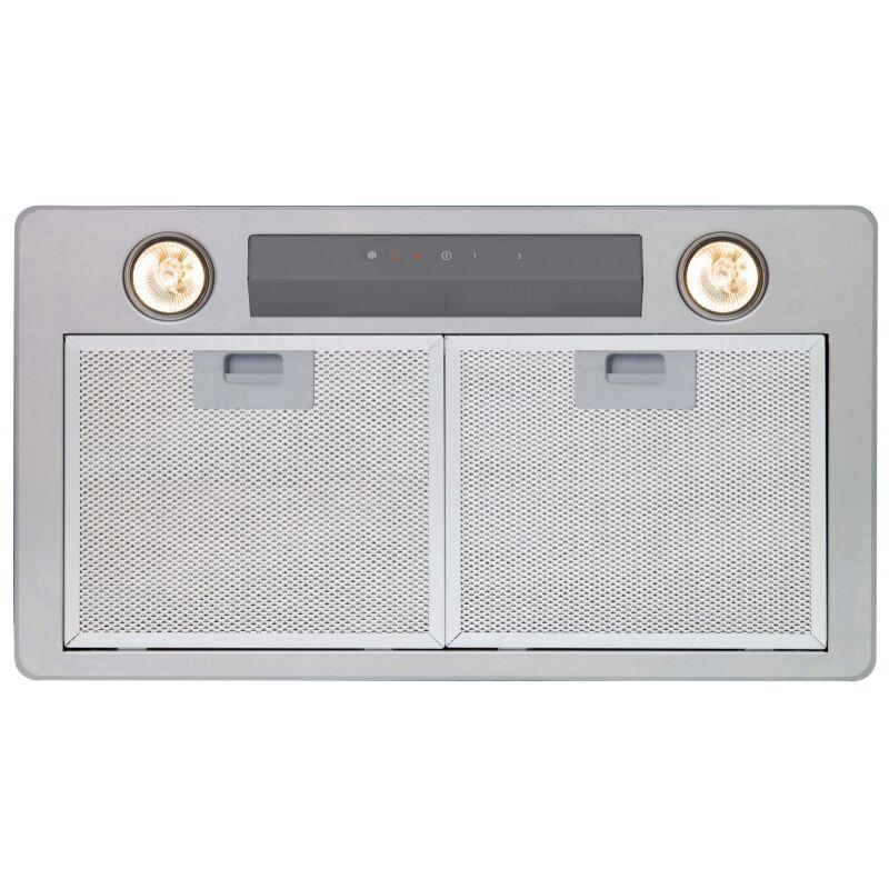 Cata GL-45 X/C LED inox felső szekrénybe vagy kürtőbe építhető páraelszívó