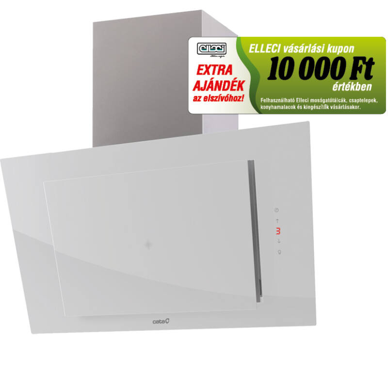 Cata THALASSA 800 XGWH/E fehér fali páraelszívó