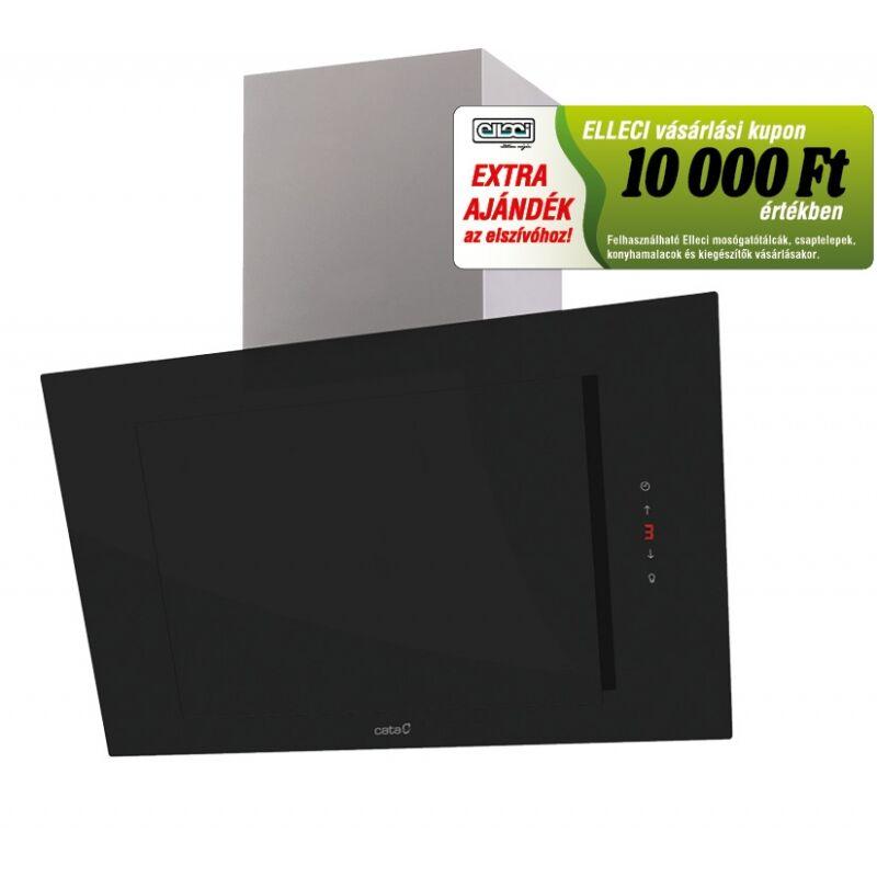 Cata THALASSA 800 XGBK/E fekete fali páraelszívó