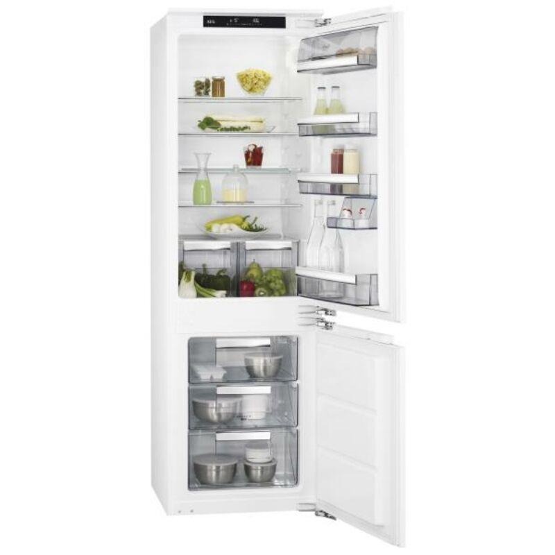 AEG SCE81821LC Beépíthető Kombi Hűtőszekrény 178cm