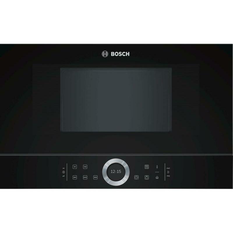 Bosch BFL634GB1 Beépíthető Mikróhullámú Sütő FEKETE