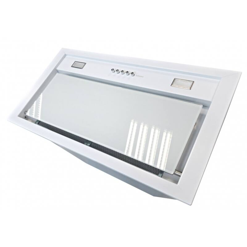 Airmec BUILT-IN 50 MAX VETRO fehér - A készlet erejéig rendelhető! felső szekrénybe vagy kürtőbe építhető páraelszívó