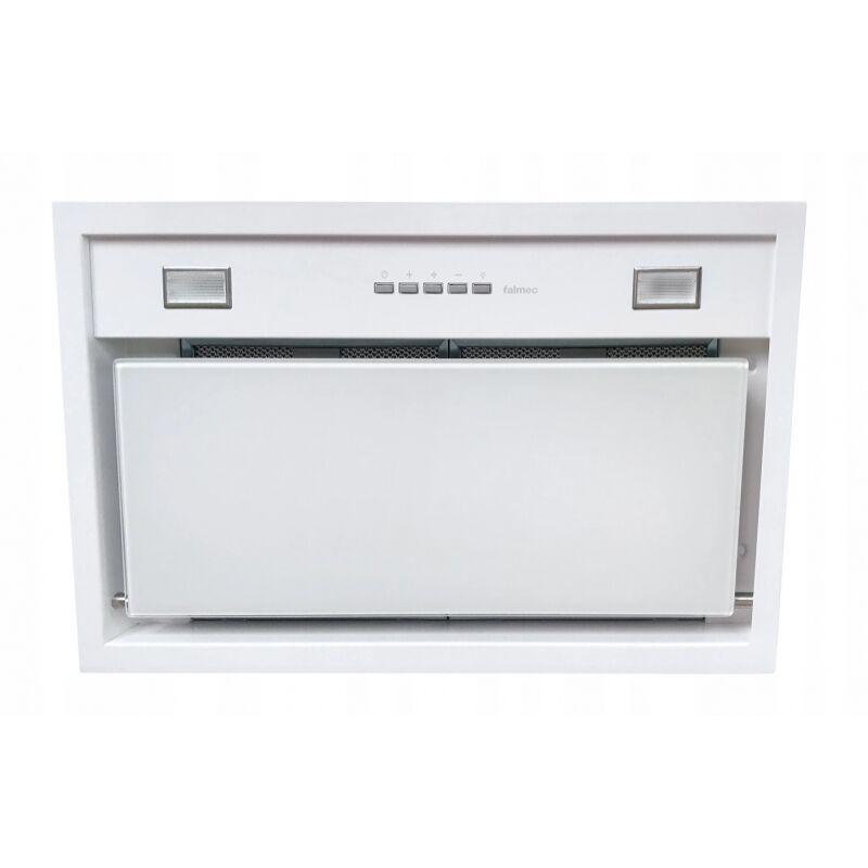 Falmec BUILT IN BURANO 50 T600 fehér felső szekrénybe vagy kürtőbe építhető páraelszívó