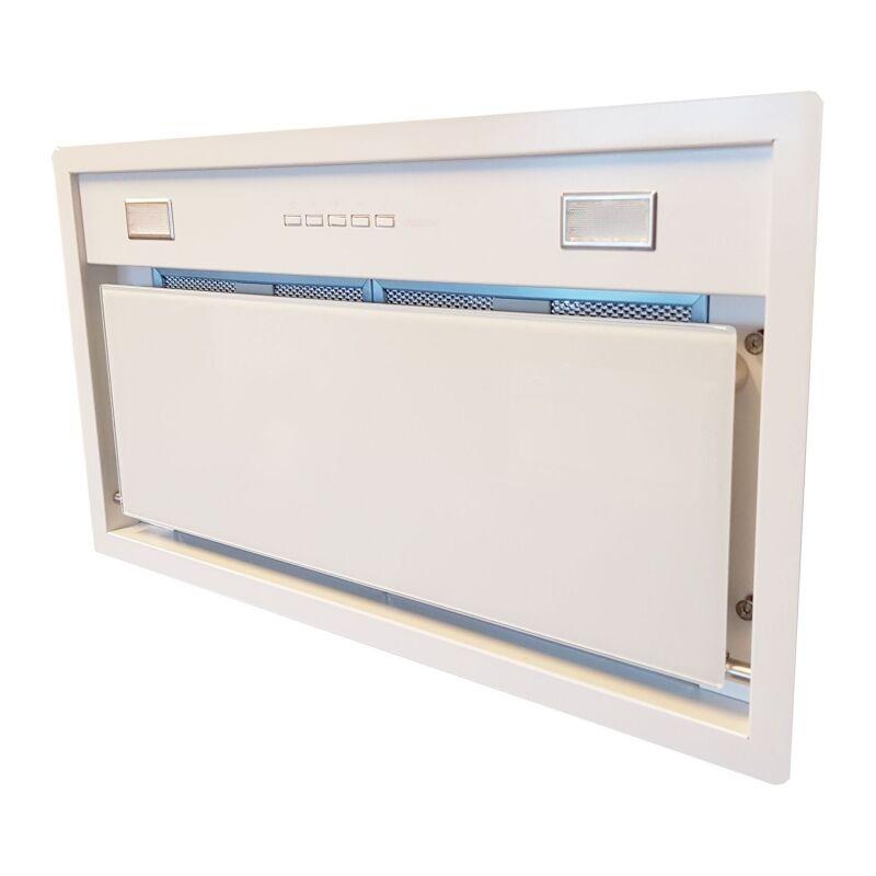 Falmec BUILT IN BURANO 70 T600 fehér felső szekrénybe vagy kürtőbe építhető páraelszívó