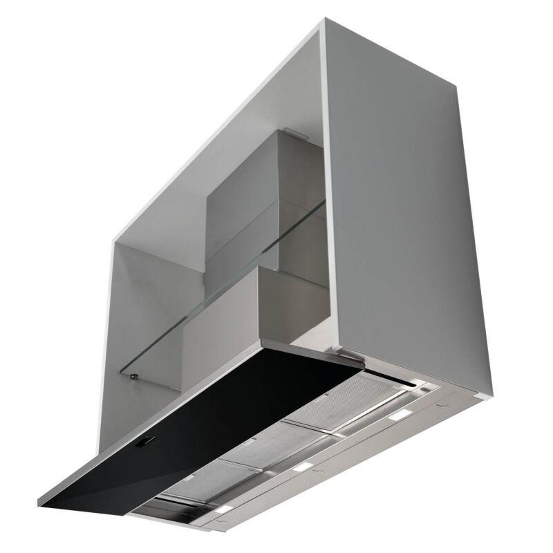 Falmec MOVE 90 fekete felső szekrénybe vagy kürtőbe építhető páraelszívó