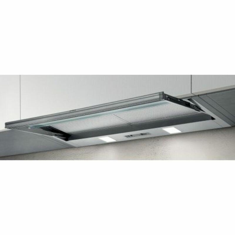 ELICA CIAK LUX GR/A/L/86 beépíthető páraelszívó, 86 cm, LED, D energiaosztály, IEC: 255 m3/h, ezüst