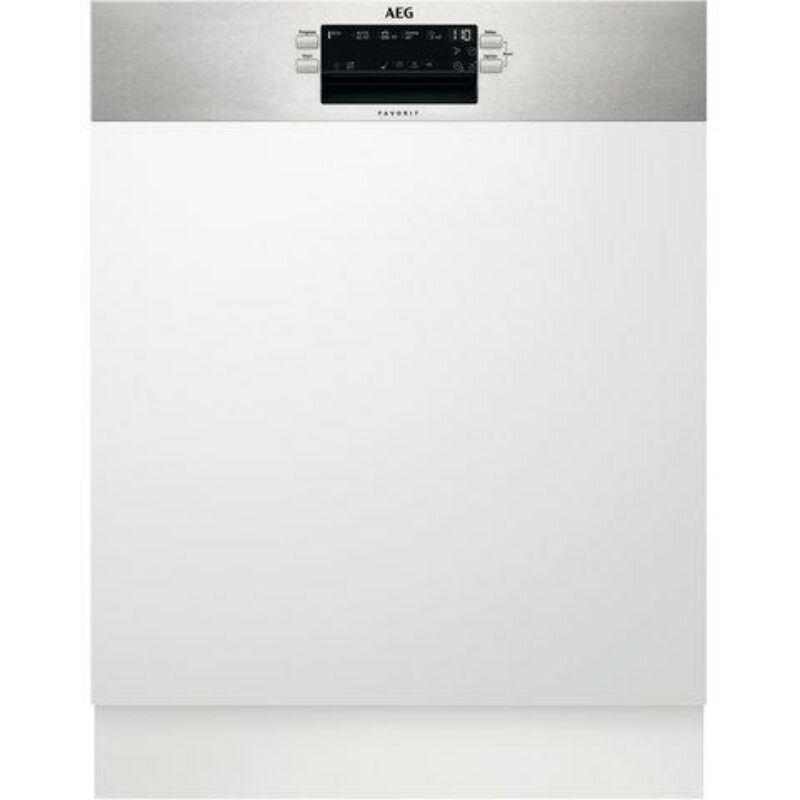 AEG FEE52910ZM Beépíthető mosogatógép, MaxiFlex fiók, AirDry, 14 teríték, LED kijelző