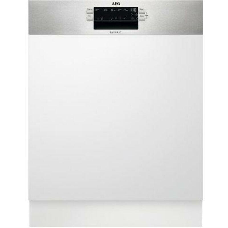 AEG FEE53670ZM Beépíthető mosogatógép, AirDry, 13 teríték, LED kijelző