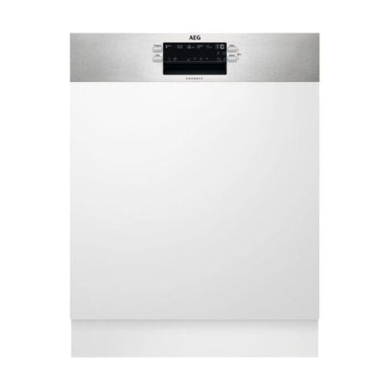 AEG FES5395XZM Beépíthető mosogatógép, MaxiFlex fiók, AirDry, 14 teríték, LED kijelző