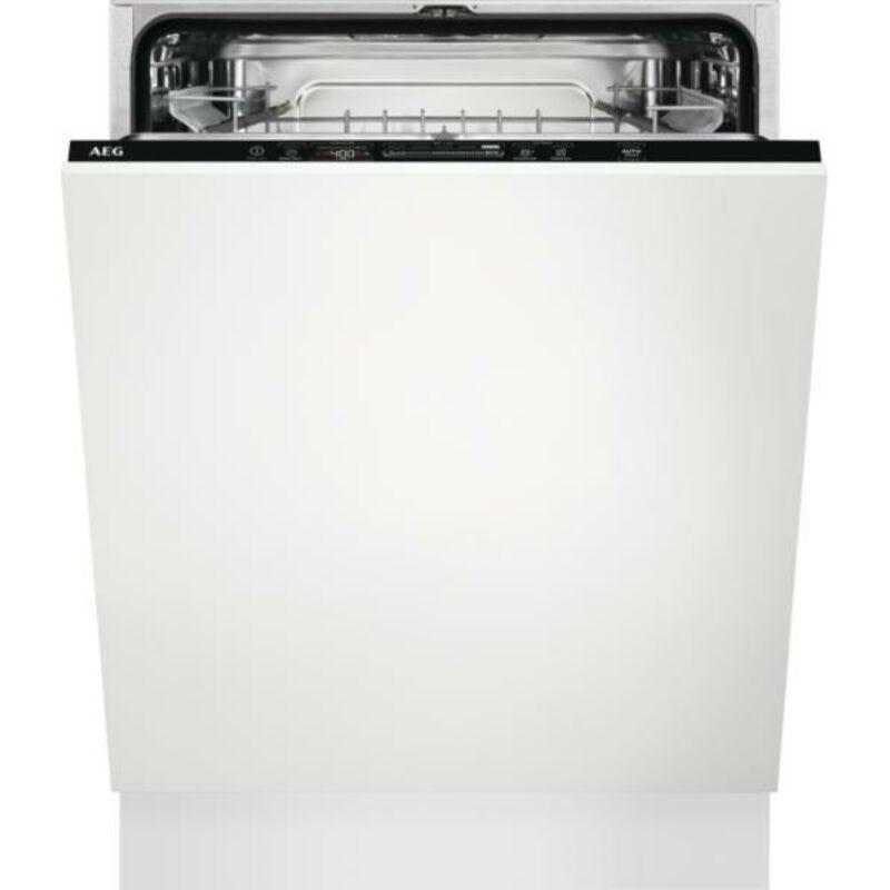 AEG FSB52637Z Beépíthető mosogatógép, QuickSelect kezelőpanel, AirDry, 13 teríték, LED kijelző