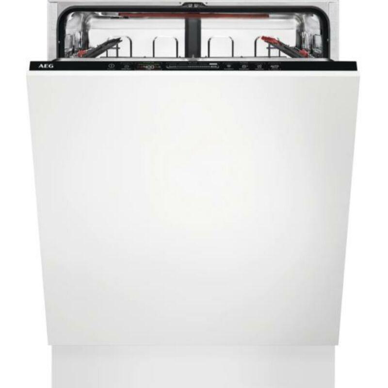 AEG FSE63637P Beépíthető mosogatógép, QuickSelect kezelőpanel, AirDry, 13 teríték, LED kijelző