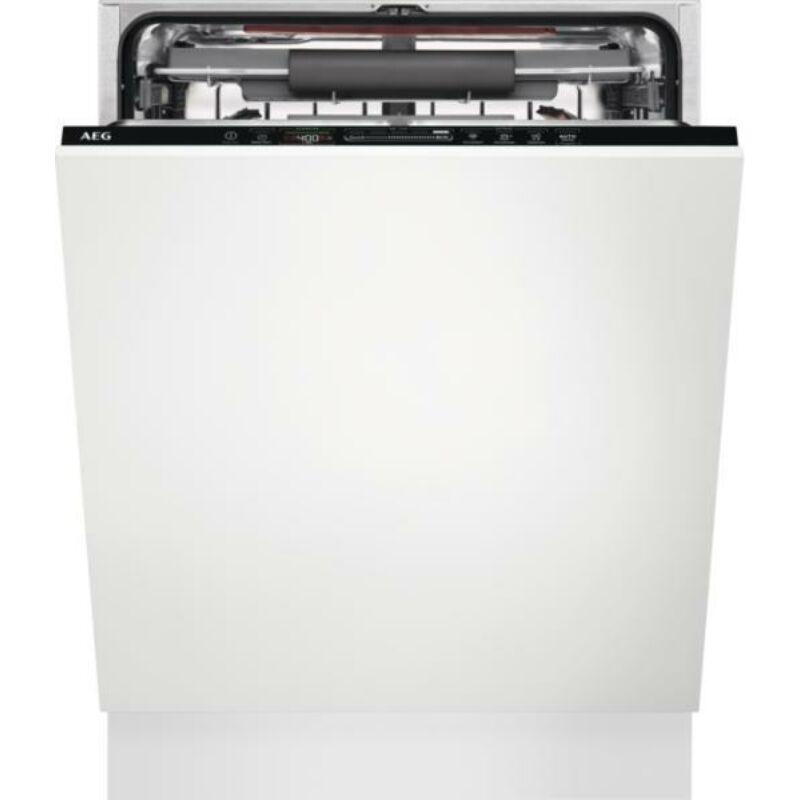 AEG FSE63767P Beépíthető mosogatógép, QuickSelect kezelőpanel, AirDry, 15 teríték, LED kijelző