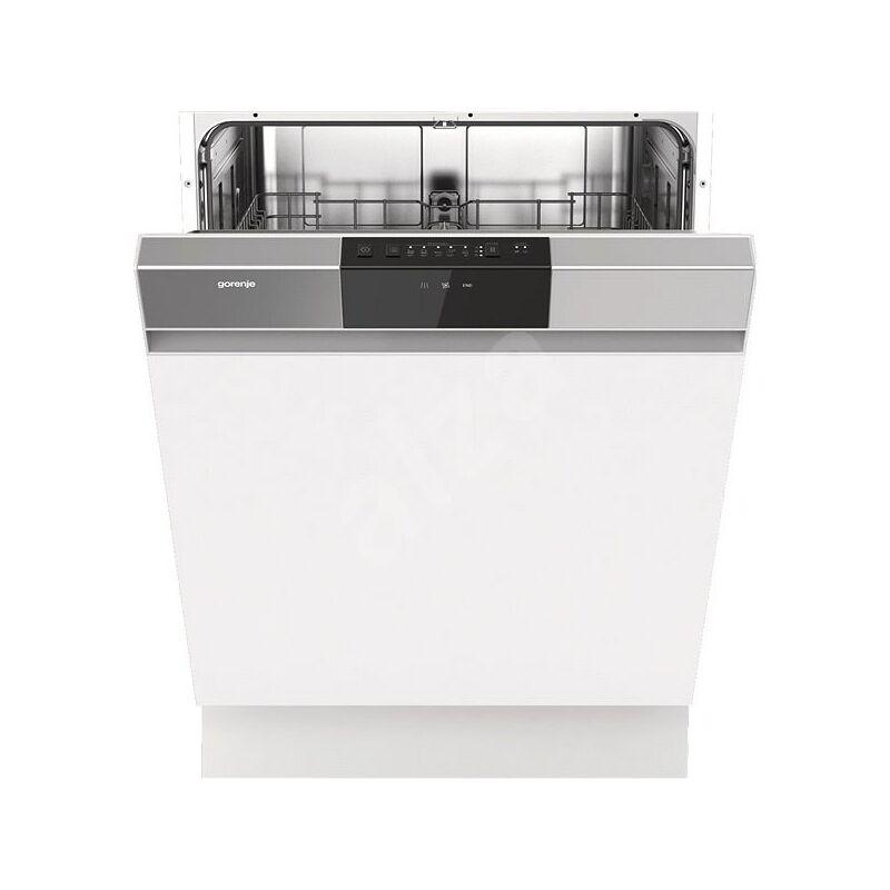 Gorenje GI62040X beépíthető kezelőpaneles mosogatógép