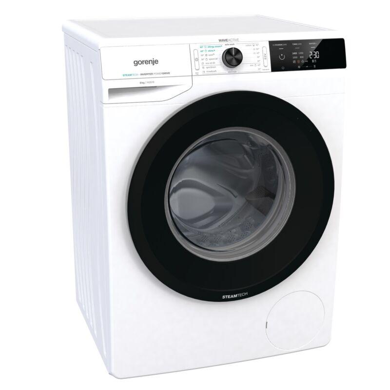 Gorenje WEI84CPS  elöltöltős mosógép Gőzfunkcióval