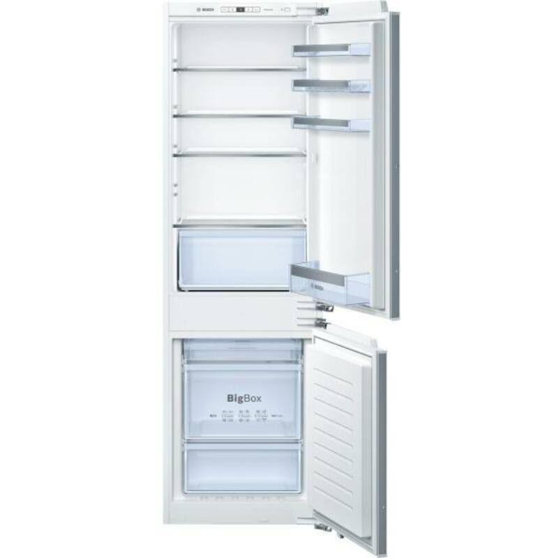 Bosch KIS87AF30 beépíthető kombi hűtő