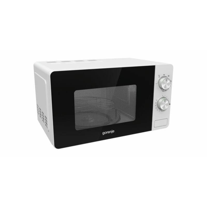 Gorenje MO20E2W szabadonálló mikrohullámú sütő fehér grill