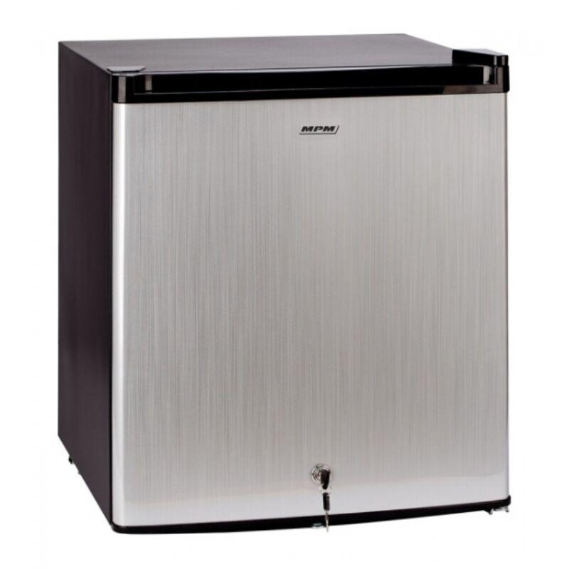 MPM MPM-46-CJ-03/A Hűtőszekrény inox 38l+8l fagyasztó zárható magassága 51cm
