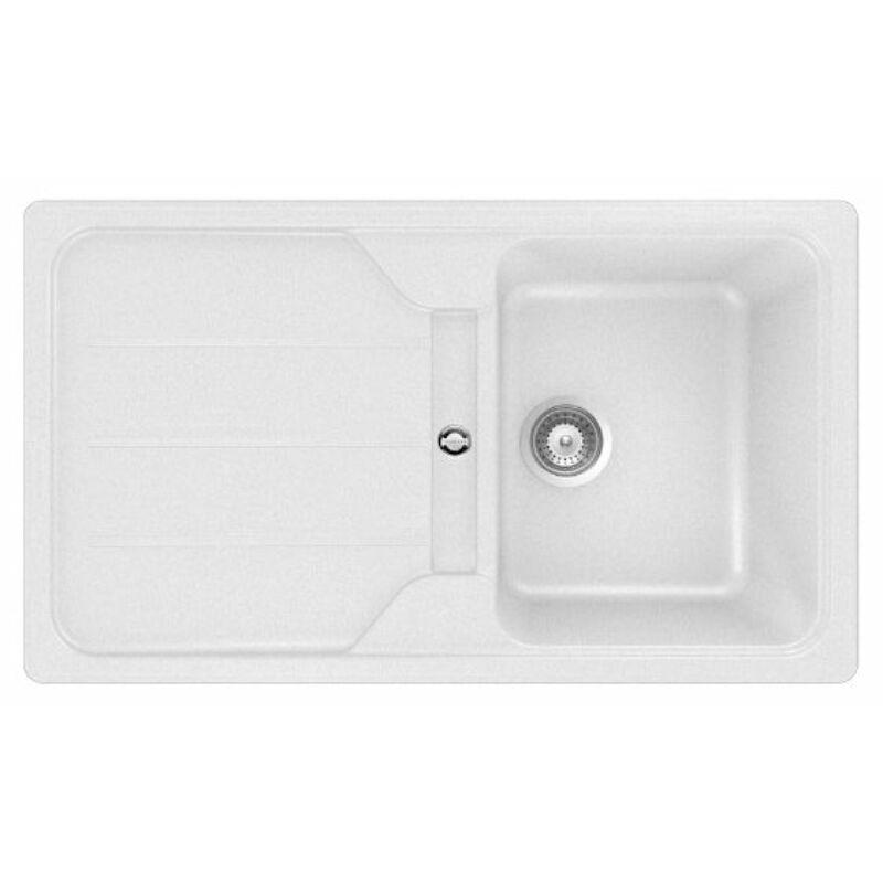 Teka SIMPLA 45 B TG 40144500 Fehér, gránit mosogatótálca