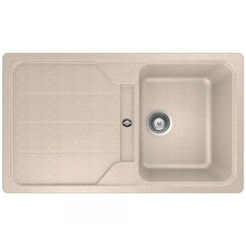 Teka SIMPLA 45 B TG 40144514 homokbézs, gránit mosogatótálca