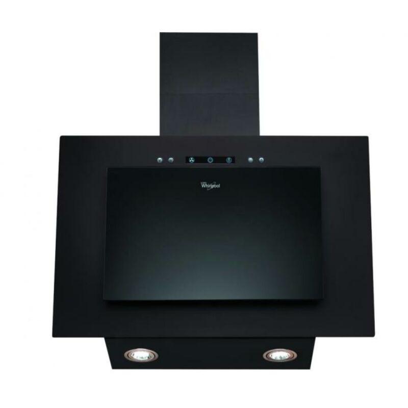 Whirlpool AKR 036 G BL 60cm széles ferdesíkű elszívó Fekete LED