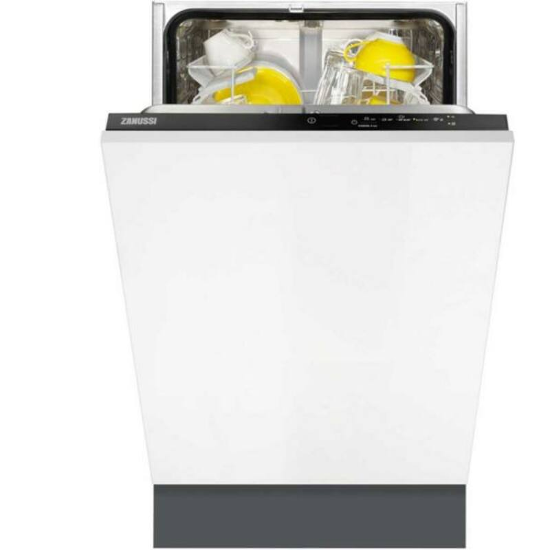 Zanussi ZDV12003FA Teljesen Beépíthető 45cm Mosogatógép