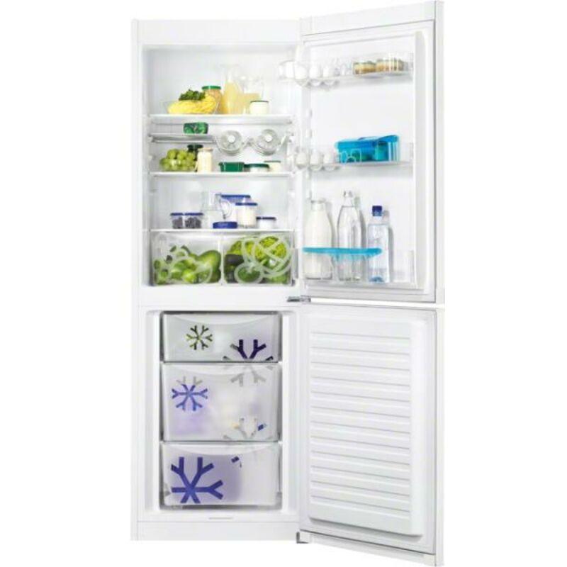 Zanussi ZRB33103WA Kombi hűtő alulfagyasztós