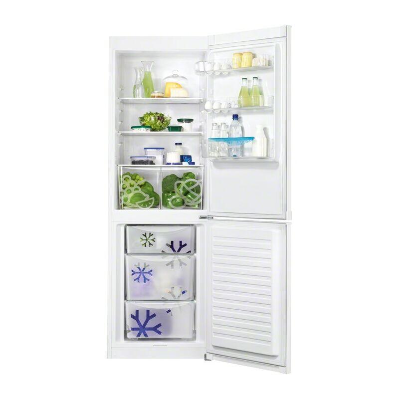 Zanussi ZRB36101WA Kombi hűtő alulfagyasztós
